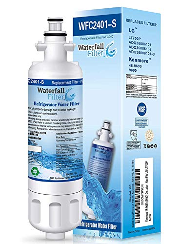 LG LT700P Compatible Water Filter - Refrigerator - Also Fits Kenmore 46-9690 (9690)