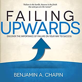 Failing Upwards audiobook cover art