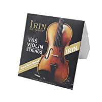 KESOTO ヴァイオリン弦 4本 E/A/D/G バイオリン弦 ストリング 弦楽器部品