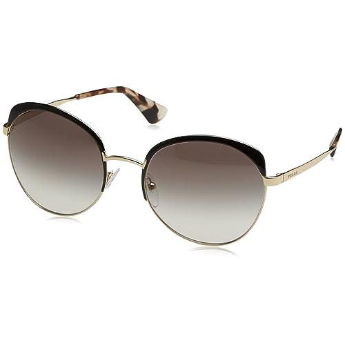 0698c1052db Prada Women s Metal Bridge Mirrored Sunglasses