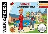Spirou et Fantasio : La trottinette tout terrain - coloriage animé