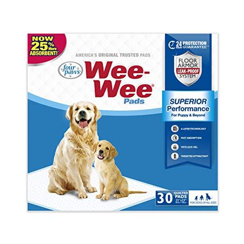 wee wee pads 30 count