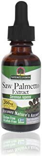 Nature's Answer Alcohol-Free Saw Palmetto Berry Extract, 1-Fluid Ounce | Prostate Support | Natural Urinary Health | Promo...