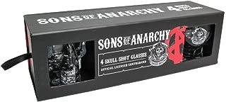 Sons of Anarchy 4スカルショットグラス