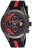 Scuderia Ferrari Orologio Cronografo Quarzo Uomo con Cinturino in Silicone 830592