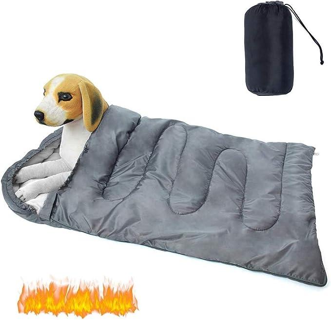 saco de dormir camping perros