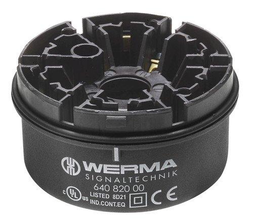 WERMA Anschlusselement 64082000 Schraubanschl. Optisches/Akustisches Signalgerät 4049787004944