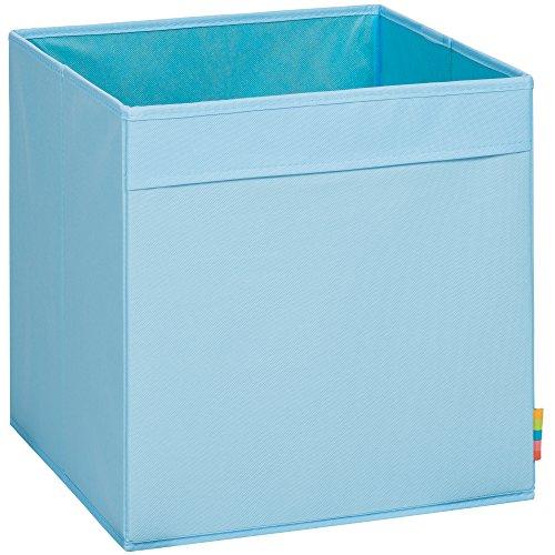 (Storanda) Aufbewahrungsbox MIO - Extra Stabile MDF Ausführung - Faltbox - Korb - 33x33x33 cm - (Hellblau)