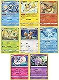 Pokemon Eeveelution Evolution 8 Card Set - Jolteon - Vaporeon - Flareon - Leafeon - Glaceon - Sylveon - Espeon - Eevee - Vivid Voltage Card Lot