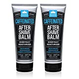 Pacific Shaving Company Caffeinated Aftershave, Paraben-Free, Made in USA, 7 oz (Pack of 2)