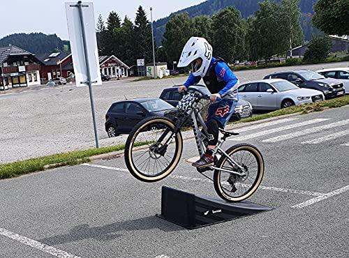 große Single Rampe für MTB/Skateboard/BMX/Skater/RC Cars Sprungrampe