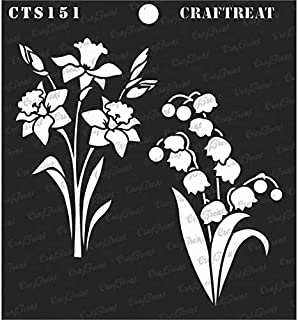 Best daffodil flower stencils Reviews
