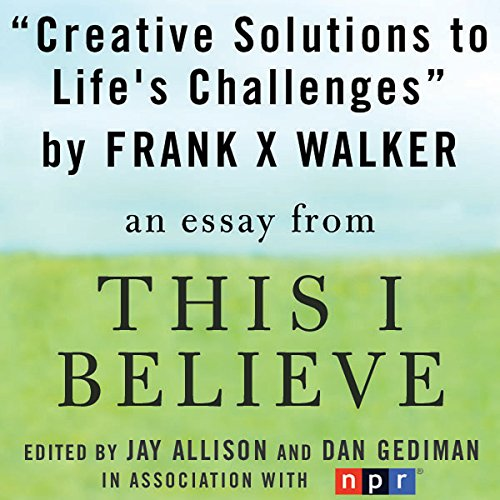 Creative Solutions to Life's Challenges audiobook cover art