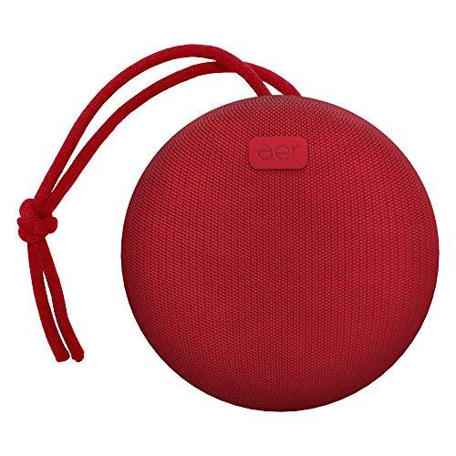 Caixa de Som sem Fio, Bluetooth, à Prova D´Água, 5W Rms, Aerbox, Vermelha, Aer By Geonav, Aercx01R