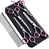 Best Grooming Shears For Dogs - Gimars 4CR Stainless Steel Dog Grooming Scissors Kit Review