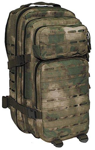 MFH US Rucksack Assault I Laser Daypack MOLLE (HDT-camo FG)