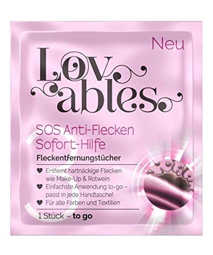 Lovables SOS Anti-Flecken Sofort-Hilfe Fleckentfernung, Wäsche-Treatment, 6er Pack (6x 5 Stück)