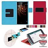 reboon Hülle für Allview X3 Soul Pro Tasche Cover Case Bumper | Rot | Testsieger