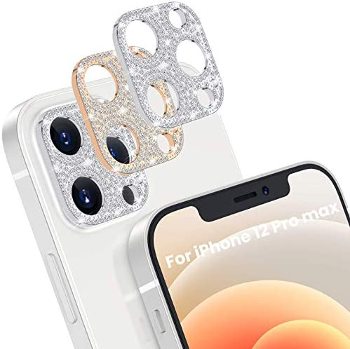 [2 Pack] Goton Bling Camera Lens Protector for...