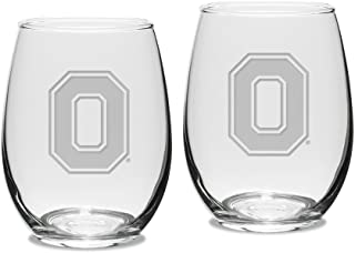 Best ohio state etched wine glasses Reviews