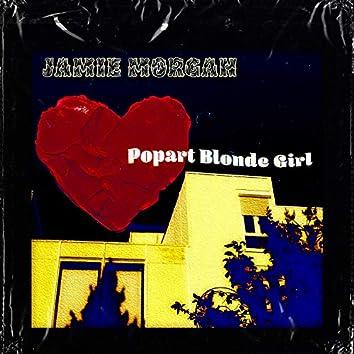 Popart Blonde Girl