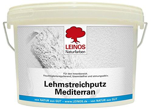Leinos 657 Lehmstreichputz Mediterran 2,50 l