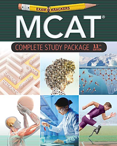 Examkrackers MCAT 11th Edition Study Packages