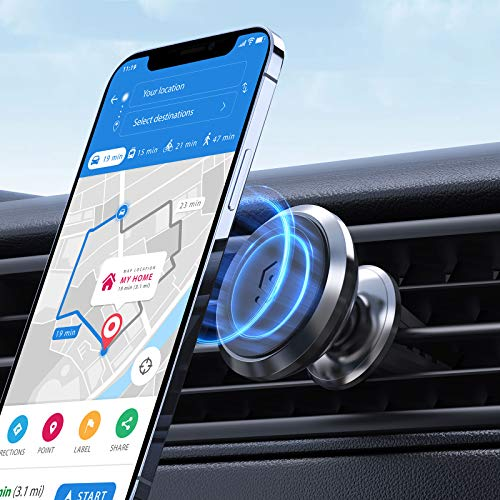 Syncwire Magnetic Phone Car Mount, Magnet Air Vent Mount 360° Rotation Car Phone Holder Fit for iPhone 11 Pro XS Max XR X 8 7 6 Plus Samsung Galaxy Note10 S10 S10+ S10e