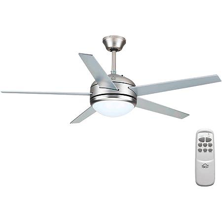 DCG I6-TAO5-4XRA Ventilateur de plafond à 5pales, avec télécommande
