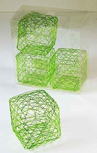 Fil Cube clair, 8 cm, 4 Pcs/Pack