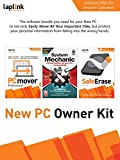 New PC Owner Kit | Laplink PCmover Professional | Laplink SafeErase | iolo System Mechanic | [PC Download]