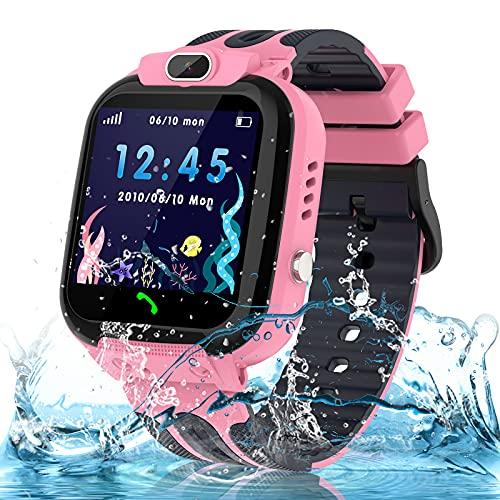 bhdlovely Kids Smart Watch Tracker Waterproof Smart watches Phone for Boys...