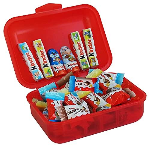 Regalo di Pasqua Lunch Box con Kinder specialità 267g