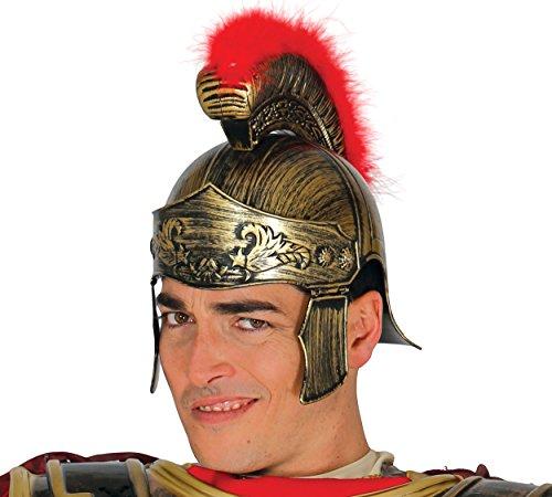 Guirca- Casco romano, Color dorado, Talla única (13361.0)