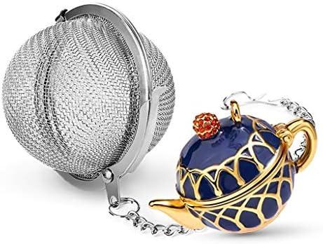 Taygate Elegant Teapot Pendant Tea Infuser Tea Steeper for Loose Tea Enjoy your Tea Time Stainless product image