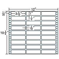 東洋印刷 タックフォームラベル 12インチ ×10 3/6インチ 27面付(1ケース500折) MT12Q