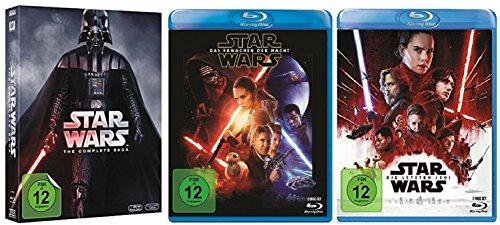 Star Wars Teil 1 - 8 Paket [8er Blu-Ray-Set]