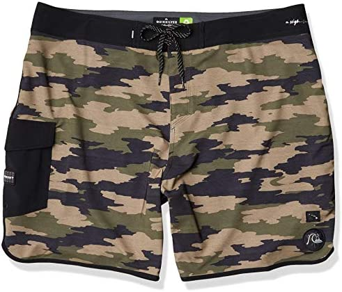 Quiksilver Men s Highline HI Variable SCALLOP19 Boardshort Swim Trunk Kalamata 38 product image