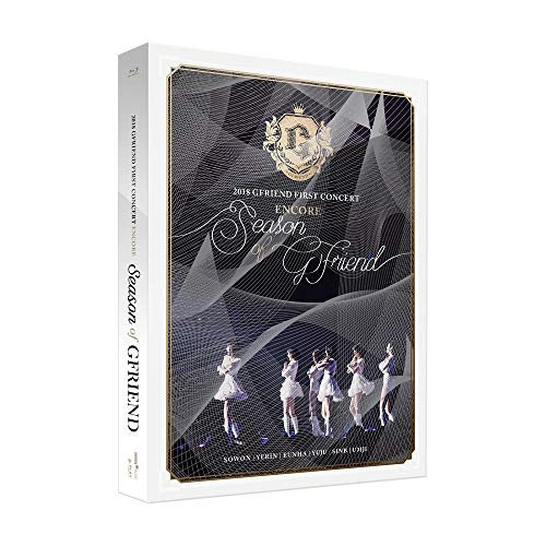 GFRIEND - 2018 GFRIEND FIRST CONCERT Season of GFRIEND ENCORE Blu-ray 2Blu-ray+Photobook+2Photocards+Double Side Extra Photocards Set