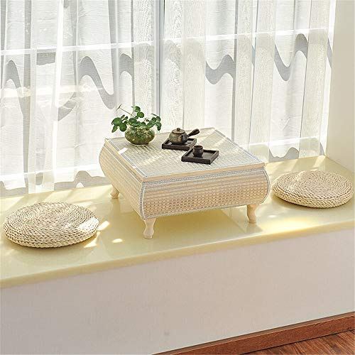 ZDAMN bed-tray tafel Japanse tatami tabel bamboe salontafel combinatie theetafel