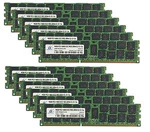 12x16GB PC3-8500R DDR3 ECC Server Memory RAM IBM X3650 M3 Type 7945 Kit 192GB