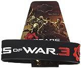 Star Imágenes Gears of War 3 Logo Pulseras de Goma Reducción Gruesa...