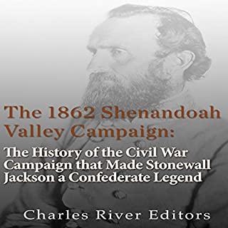 The 1862 Shenandoah Valley Campaign audiobook cover art