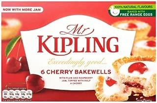 Mr Kipling Exceedingly Good 6 Cherry Bakewells 279 G (Pack Of 10)