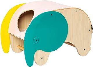 pidan 猫 ベッド ペットベッド レクタングル 洗える 木製 (象と鶏タイプ)