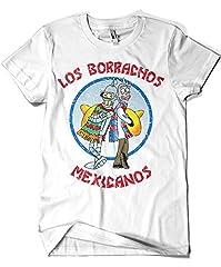 1595-Camiseta Premium, Los Borrachos Mexicanos (Legendary P,)
