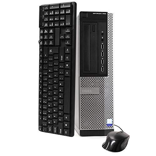 DELL Optiplex 990 Desktop Computer (Intel Quad-Core i7-2600 up to 3.4GHz, 16GB RAM, 2TB HDD, DVD, WiFi, VGA, DisplayPort, Windows 10 Professional) (i7 16GB 2TB) (Renewed)']