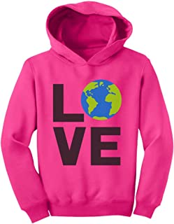 Love Save The Planet Earth Day Environment Toddler Hoodie