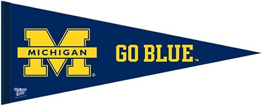 "WinCraft NCAA 90993013 University of Michigan Premium Pennant, 12"" X 30"""
