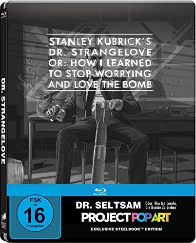 Dr. Seltsam - Oder: wie ich lernte, die Bombe zu lieben - SteelBook PopArt [Blu-ray]